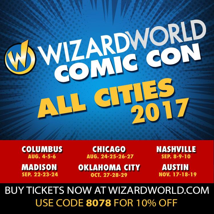 Wizard World Ticket Discount